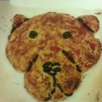 Pizza marinara forma Leopardo