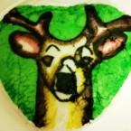 Torta cervo vegan