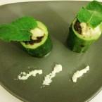 Zucchine ripiene con olive