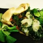 Torta salata agli spinaci