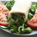 Rotolini con fagioli Borlotti e formaggio veg