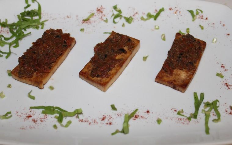 Tofu alla Mediterranea