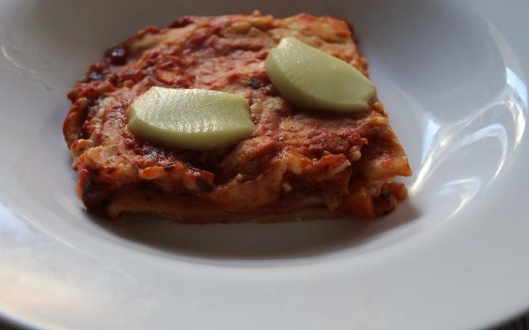 Lasagna al ragù vegetale