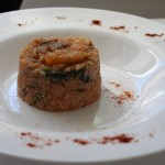Quinoa ai funghi e peperoni