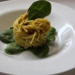 Spaghetti alla crema di carciofi