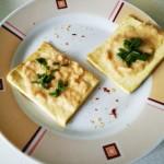 Tofu con salsa di Humus
