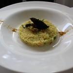 Riso al curry con zucchine e fiori di zucca