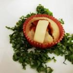 Muffin salati ripieni con zucca e champignon