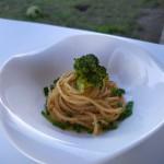 Spaghetti con broccoli, Tofu